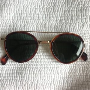Céline 41424 Mia Gold Sunglasses